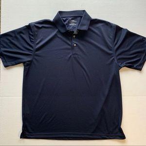 Men's XL PGA Tour Blue Polo Shirt Short Sleeve